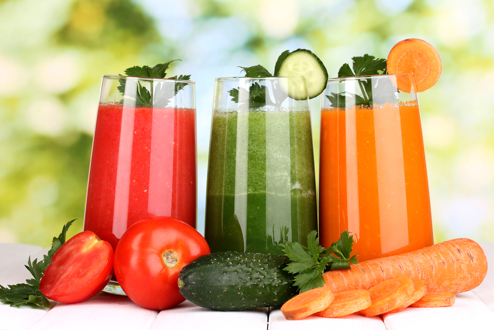 different fruit and vegetable smoothies for a soft food diet